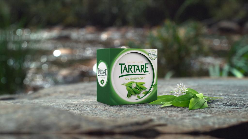 Packshot vidéo Tartare Ail Sauvage